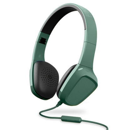 Attēls no Energy Sistem Headphones 1 HEADPHONES SMARTPHONE CONTROL WITH MICROPHONE. GUARANTEE 3 YEARS! (green)
