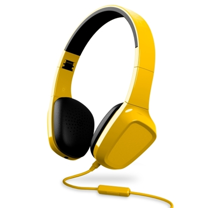 Attēls no ENERGY SISTEM HEADPHONES 1 HEADPHONES SMARTPHONE CONTROL WITH MICROPHONE. GUARANTEE 3 YEARS! (yellow)