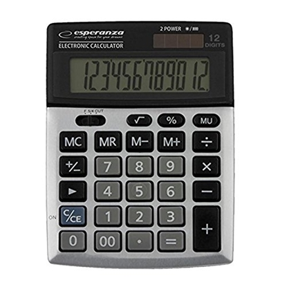 Attēls no ESPERANZA ECL102 DESKTOP CALCULATOR NEWTON