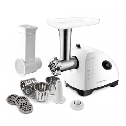 Изображение Esperanza EKM022 MEAT GRINDER MEATBALL 800W WITH VEGETABLE GRATERS