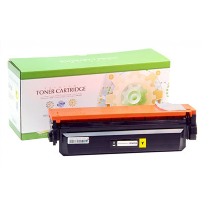 Picture of Static Control Analog  Hewlett-Packard CF402X / Canon CRG 045H Ink Cartridge, Yellow
