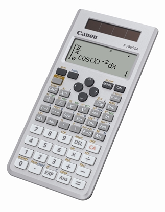 Attēls no Canon F-789SGA calculator Pocket Display Gray