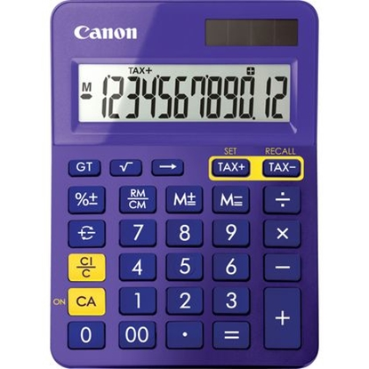 Attēls no Canon LS-123K calculator Desktop Display Purple