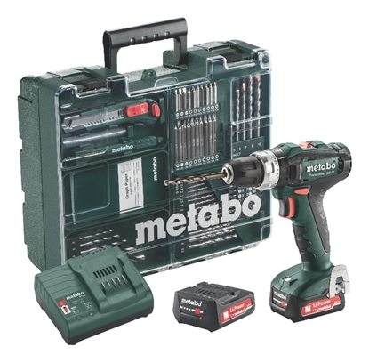Attēls no METABO Bezvadu triecienurbjmašīna PowerMaxx SB 12, Mobile Workshop,