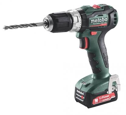 Attēls no METABO Cordless impact drill PowerMaxx SB 12 BL / 2x2,0 Ah,