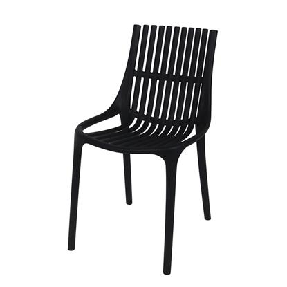 Изображение Krēsls ROMA 55x46xH81cm melns