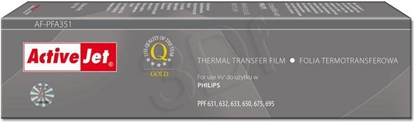 Attēls no Activejet AF-PFA351 thermal transfer film for Philips PFA-351