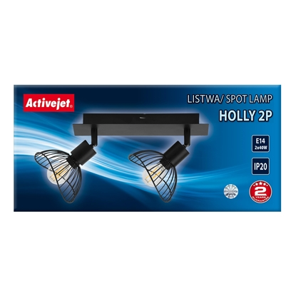 Attēls no Bar Activejet AJE-HOLLY 2P (80 W; E14 x 2)