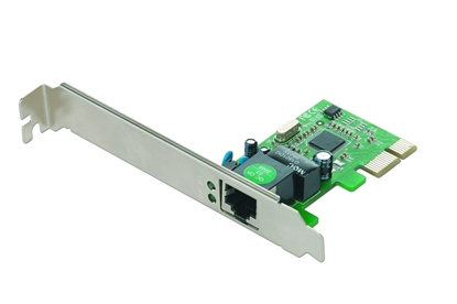 Picture of Card GEMBIRD NIC-GX1 (RJ-45; 1x 10/100/1000Mbps)