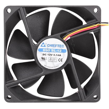 Attēls no Fan Chieftec AF-0925S (92 mm; 1800 rpm)