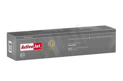 Изображение Foil ink film ribbon Activejet AF-KXFA54 (replacement Panasonic KX-FA54; Supreme; black)