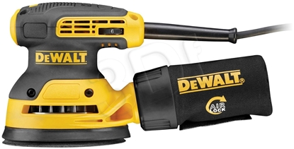 Изображение DeWALT DWE6423-QS power sander Orbital sander Black,Yellow