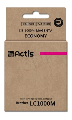 Attēls no Actis KB-1000M ink cartridge for Brother LC1000/LC970 magenta