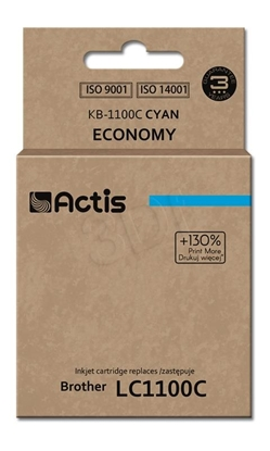 Attēls no Actis KB-1100C ink cartridge for Brother printer LC1100/LC980 cyan