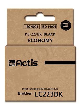 Attēls no Actis ink cartridge KB-223BK for Brother, LC223BK compatible standard 16ml black