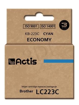 Attēls no Actis ink cartridge KB-223C for Brother, zamiennik LC223C standard 10ml cyan