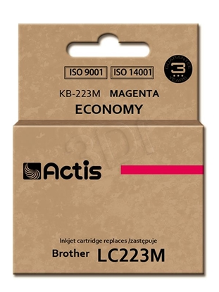 Изображение Actis ink cartridge KB-223M for Brother, comaptible LC223M standard 10ml magenta