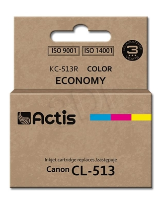 Изображение Actis KC-513R colour ink cartridge for Canon printer (Canon CL-513 replacement) standard