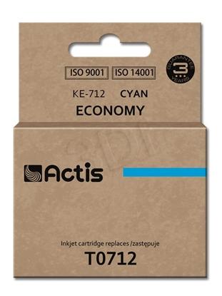 Изображение Ink ACTIS KE-712 (replacement Epson T0712, T0892, T1002; Standard; 13.5 ml; blue)