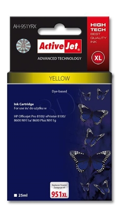 Picture of Activejet ink for Hewlett Packard No.951XL CN048AE