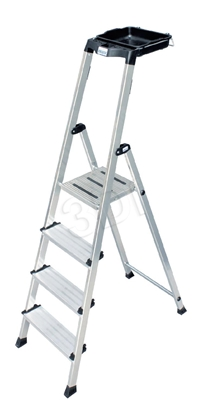 Изображение Ladder aluminium Krause Secury 126535