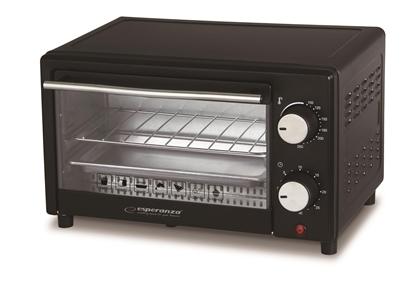Picture of Esperanza EKO004 Mini Oven 10 L 900 W Black, Silver