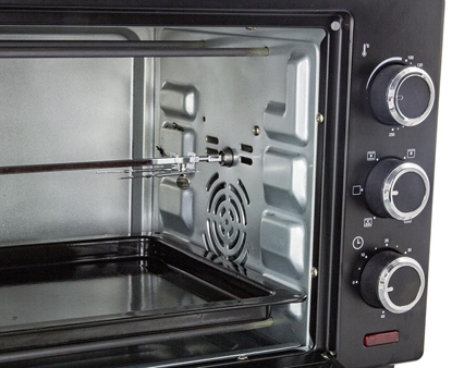 Picture of Esperanza EKO006 Mini oven with convection and spit 25 l 1600W Black