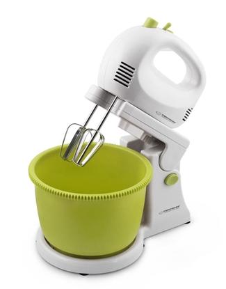 Attēls no Mixer with bowl Esperanza BROWNIE EKM008 (300W; white color)