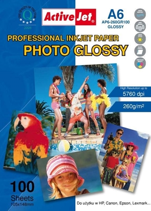 Picture of Activejet AP6-260GR200 photo paper for ink printers
