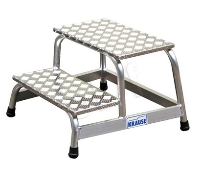 Изображение Platform ladder 2 step assembly Krause Stabilo 805027
