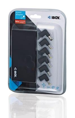 Attēls no iBox IUZ90WA power adapter/inverter Indoor 90 W Black