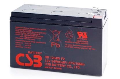 Изображение Battery maintenance-free UPS Hitachi CSB HR 1234WF2 (12V DC; 9000mAh)