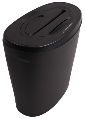 Picture of Esperanza EN103 paper shredder 22 cm Black
