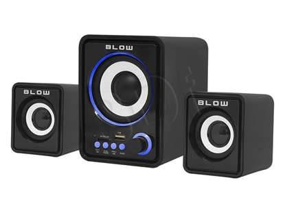 Изображение Speaker set computer BLOW Ms-26 66-377# (2.1; black color)
