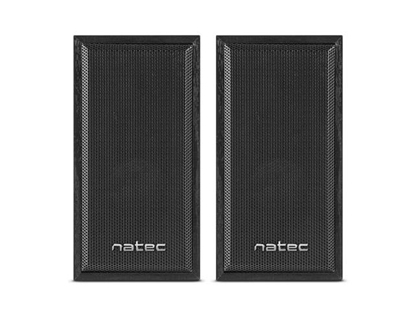 Picture of NATEC Speakers 2.0 Panther 6W RMS Black