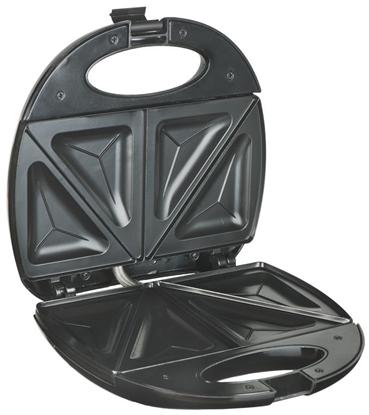 Picture of Adler AD 3015 sandwich maker 750 W Black,Silver