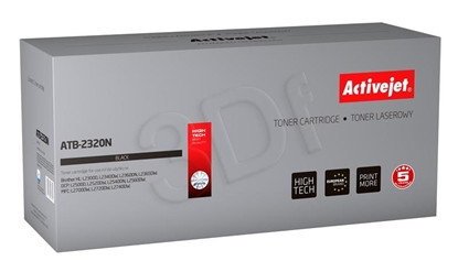 Изображение Toner Activejet ATB-2320N (replacement Brother TN-2320; Supreme; 2600 pages; black)