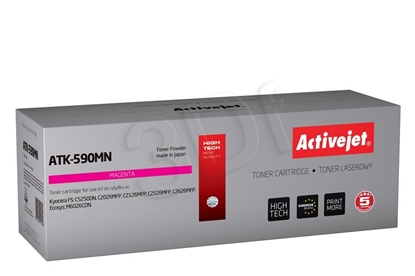Attēls no Toner Activejet ATK-590M (replacement Kyocera TK-590M; Supreme; 5000 pages; Magenta)
