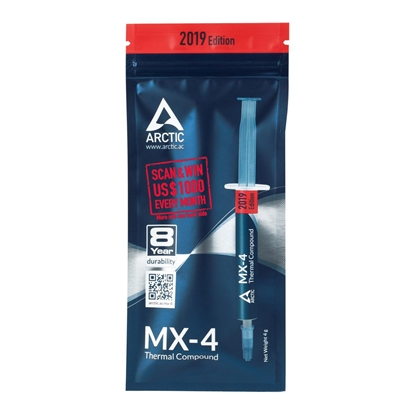 Attēls no ARCTIC MX-4 (4 g) Edition 2019 – High Performance Thermal Paste
