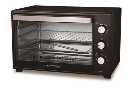 Picture of Esperanza EKO005 Mini Oven 20 L 1600 W Black, Silver