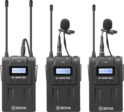 Изображение Boya microphone  BY-WM8 Pro-K2 UHF Wireless