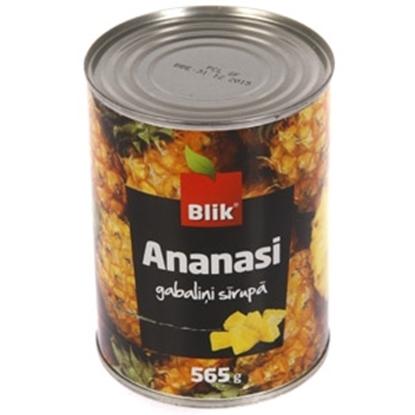 Picture of Ananasu gabaliņi sīrupā Blik 565g