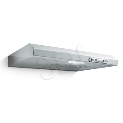 Изображение Beko CFB 5310 W cooker hood 125 m3/h Wall-mounted White D