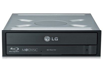Attēls no LG BH16NS55 optical disc drive Internal Black Blu-Ray DVD Combo