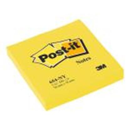 Attēls no *Līmlapiņas 3M Post-it 76x76mm/100 lap. neona dzeltens