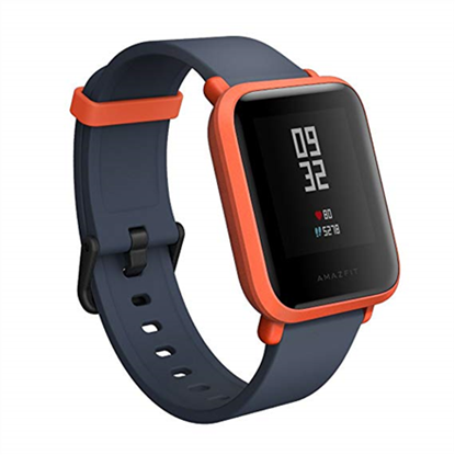 Attēls no Amazfit Amazfit Bip 1900 mAh, Touchscreen, Heart rate monitor, Red, GPS (satellite),