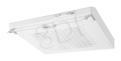 Picture of Beko CFB 6310 W cooker hood 160 m3/h Wall-mounted White D
