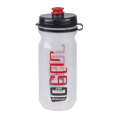 Изображение POLISPORT Clip-on Bottle C600 / Melna / Sarkana / 600ml