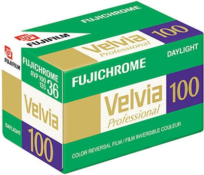Attēls no 1 Fujifilm Velvia 100   135/36