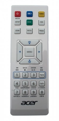 Picture of Acer MC.JK211.007 remote control IR Wireless Projector Press buttons